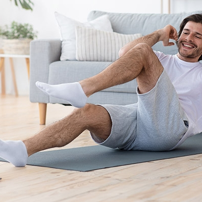 How does a 40 year old male start getting into shape?