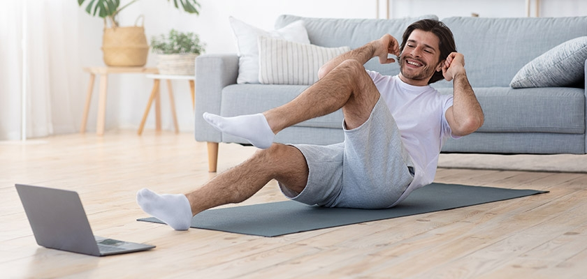 Over 40s Male Online Personal Training