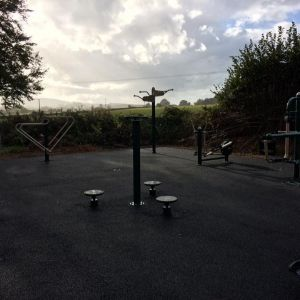 Merriott's New Outdoor Gym