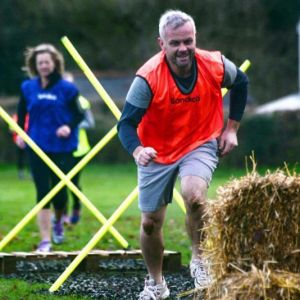 The Xmas Turkey Run - Crawl and Haybale