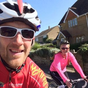 Helping my Client round the Yeovil Sportive 2017