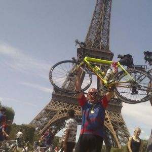 Cycling plan pays off, Client gets all the way to Paris.