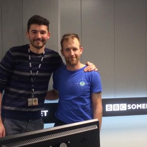 My time on BBC Somerset with Charlie Taylor in 2018
