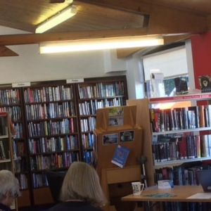 Great fitness talk for Crewkerne residents at the library in late 2018.
